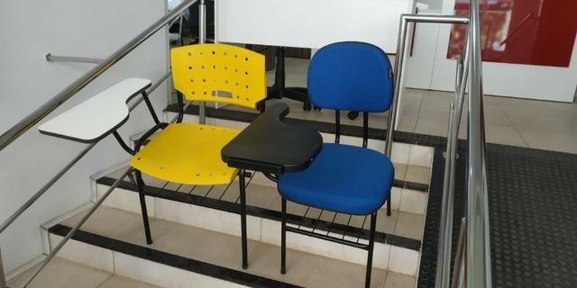 Cadeira escolar diversas cores