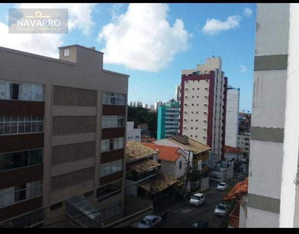 Apartamento com 1 dormitório à venda, 48 m² por r$ 250.000 - graça - salvador/ba - Foto 4