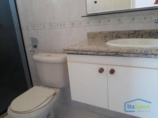 Cobertura com 4 dormitórios para alugar, 200 m²- pitangueiras - lauro de freitas/ba - Foto 7