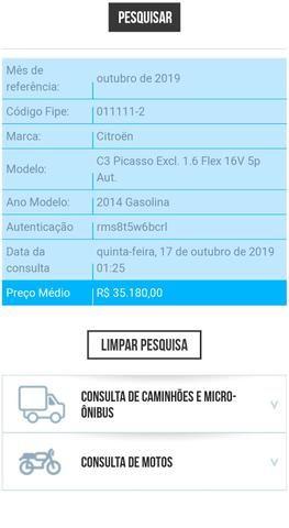 C3 Picasso GLX 1.6 Flex 16v Exclusive Aut - Foto 15
