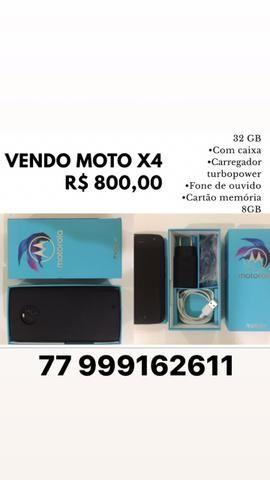 Celular moto X4