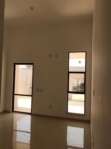 Casa Plana no Eusébio, 3 quartos, suítes, churrasqueira, excelente localização! - Foto 14