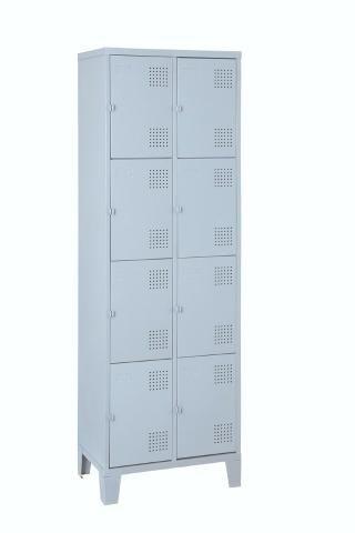 Roupeiro de aço Armário vestiário loker 8 portas Só novos