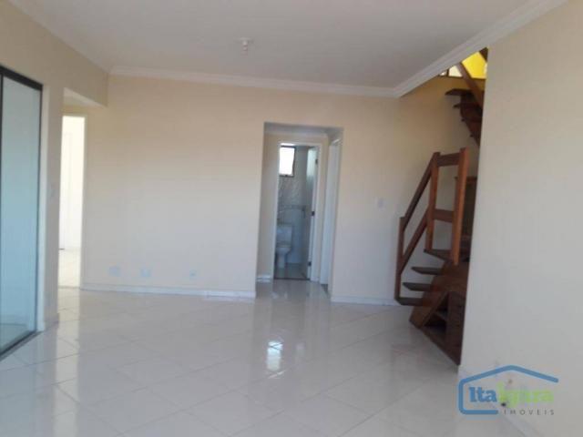 Cobertura com 4 dormitórios para alugar, 200 m²- pitangueiras - lauro de freitas/ba - Foto 4