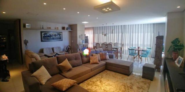Apartamento com 3 dormitórios à venda, 179 m² por r$ 1.250.000,00 - setor marista - goiâni
