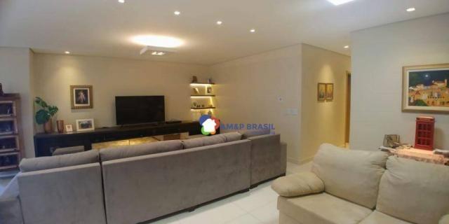 Apartamento com 3 dormitórios à venda, 179 m² por r$ 1.250.000,00 - setor marista - goiâni - Foto 2