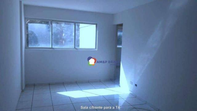 Apartamento com 2 dormitórios à venda, 78 m² por r$ 175.000,00 - setor bueno - goiânia/go