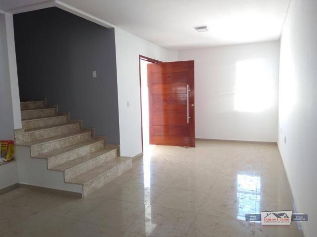 Apartamento Duplex com 4 dormitórios à venda, 160 m² por R$ 380.000 - Maternidade - Patos/ - Foto 4