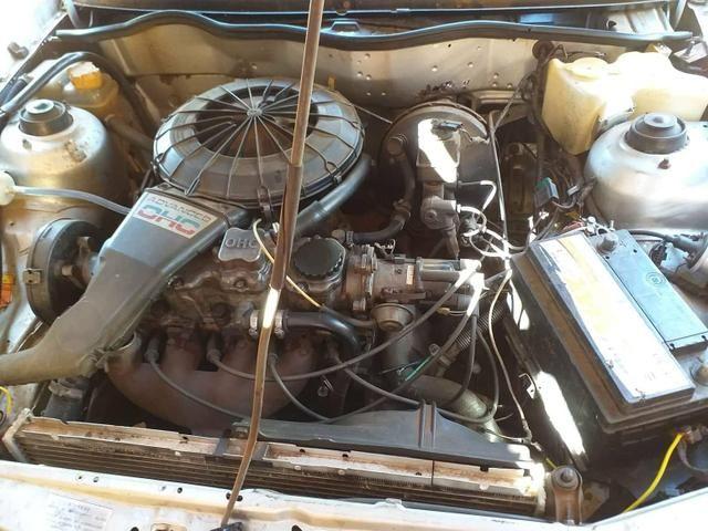 Kadett 1.8 gasolina motor zero, carro bom, pneus 15 otimo placa das nova - Foto 4