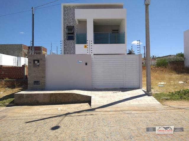 Apartamento Duplex com 4 dormitórios à venda, 160 m² por R$ 380.000 - Maternidade - Patos/