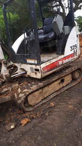 Mini retro escavadeira BOBCAT 325 - Foto 5