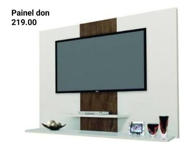 Painel para tv a partir de 179 /temos varios modelos/pague so na entrega/só chamar no zap - Foto 2