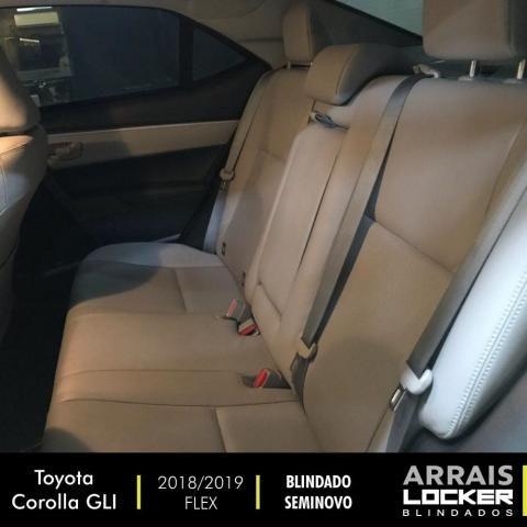 Toyota corolla 2018/2019 1.8 gli upper 16v flex BLINDADO - Foto 4