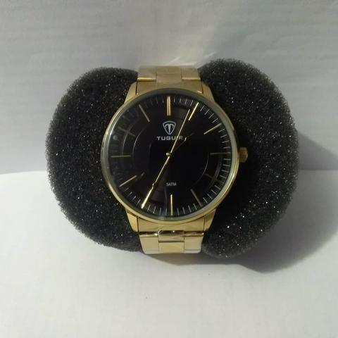 104ba143ddf Relógio masculino tuguir analógico 5000-dourado - Bijouterias ...