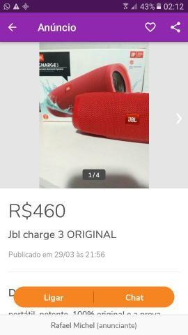 Caixinha de som JBL