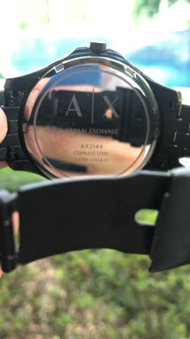 d9c9402ac67 Relógio Armani Exchange AX2144 (semi novo) - Bijouterias