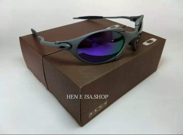 35cea32e9 Óculos Oakley Romeo 1 xmetal roxo Novo Polarizado Frete grátis - Foto 3