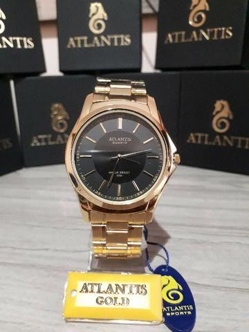 a93229ff8bd Relogio Masculino Atlantis Original Social Luxo + Caixa ...