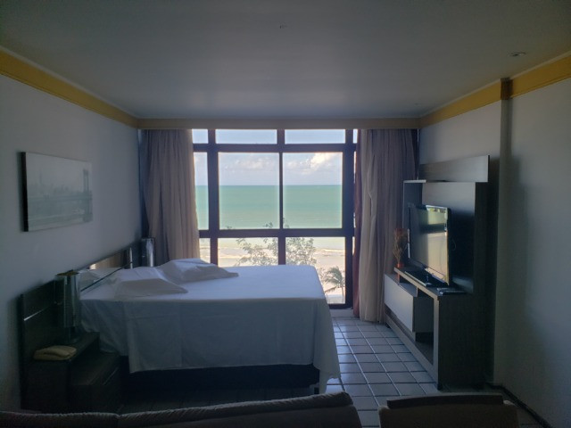 Flat temporada vista para o mar - Golden Beach Praia de Piedade - Foto 4