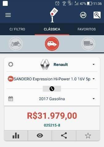 Renault Sandero Expres. 1.0 16V 2017 - Foto 13