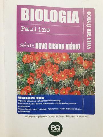 Livro Biologia vol. único. - Foto 2