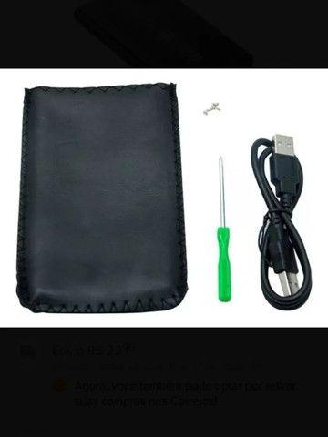 Case para HD de Notebook Gaveta de HD em Aluminio USB 3.0 - Loja Natan Abreu - Foto 4