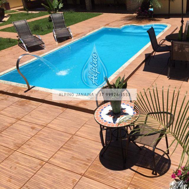JA Piscina direto da fábrica - piscina de fibra 7 metros !! - Foto 5