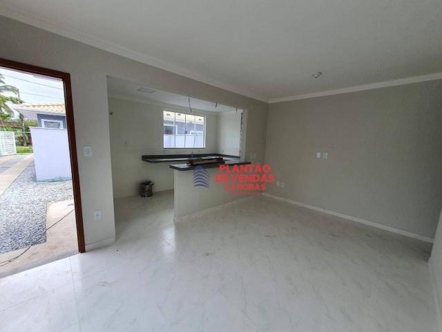 Ótimas casas lineares 3 quartos (opção de piscina e deck) - Enseada das Gaivotas - Rio das - Foto 5