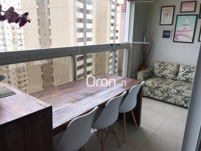 Apartamento com 3 dormitórios à venda, 113 m² por R$ 630.000,00 - Jardim Goiás - Goiânia/G - Foto 8