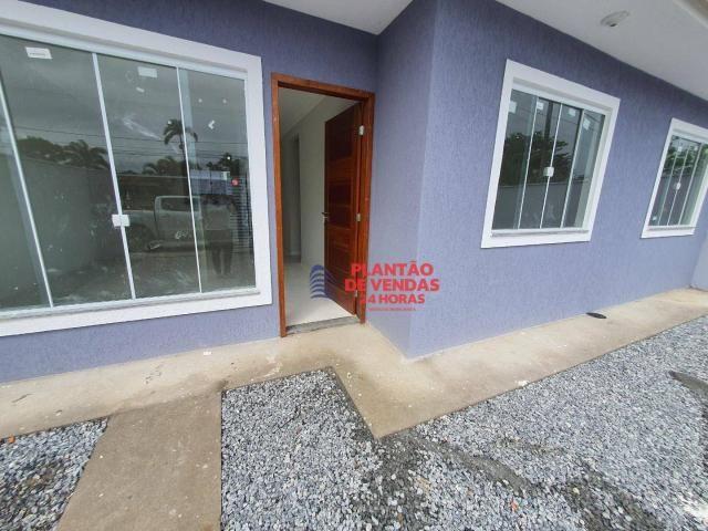 Ótimas casas lineares 3 quartos (opção de piscina e deck) - Enseada das Gaivotas - Rio das - Foto 4