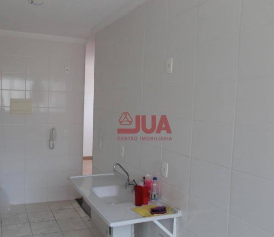 Apartamento com 2 quartos, Sala, Cozinha, Banheiro, Área de Serviço e Garagem, para alugar - Foto 3