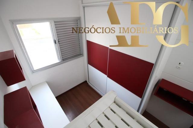 Apartamento com 3 dormitórios 1 suíte com elevador e sacada, próximo ao trevo de Barreiros - Foto 12
