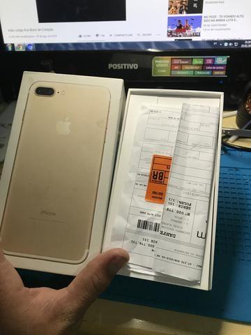 IPhone 7 Plus 32 gb zero caixa nota fiscal - Foto 3