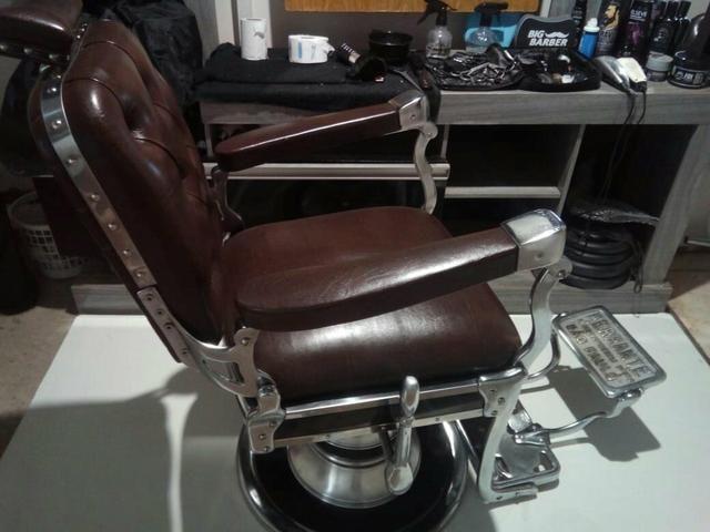 Cadeira de barbeiro Ferrante - Foto 5