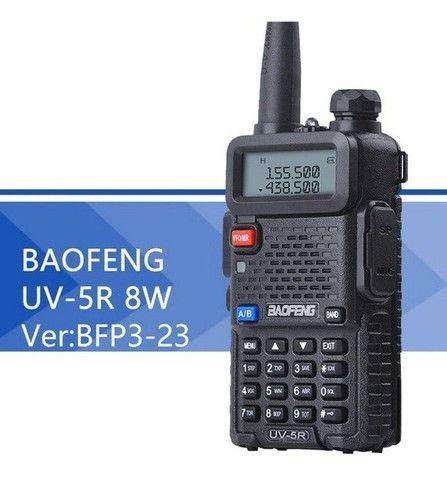 Rádio Ht Dual Band Uhf + Vhf Baofeng Uv-5r Rádio - Foto 2