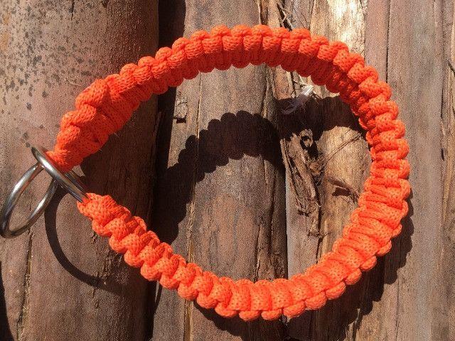 Guias e coleiras de corda artesanal - Foto 6