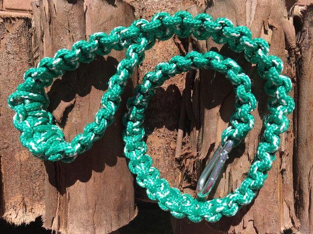 Guias e coleiras de corda artesanal - Foto 3