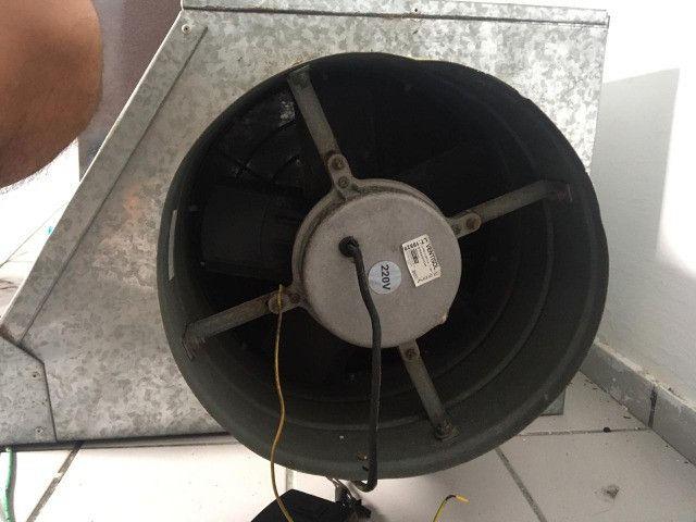 Coifa + Exaustor de 30cm Semi Novos