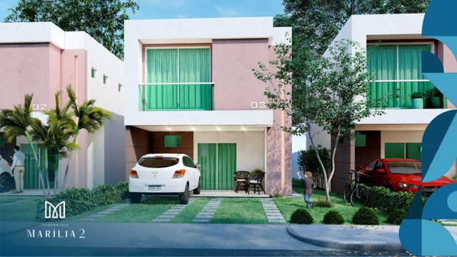 Marilia Alencar II/ Bairro Araçagy, casas com 3 quartos, 2 vagas na garagem_ - Foto 4