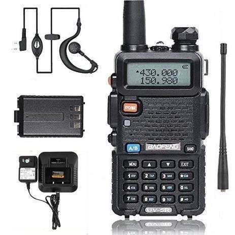 Rádio Ht Dual Band Uhf + Vhf Baofeng Uv-5r Rádio - Foto 3