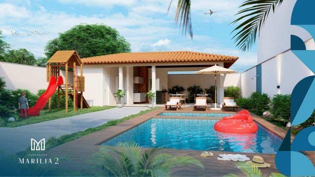 Marilia Alencar II/ Bairro Araçagy, casas com 3 quartos, 2 vagas na garagem_ - Foto 3