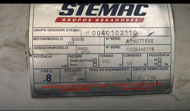 Gerador 40 kva - MWM - Foto 3