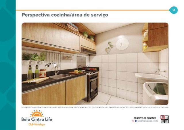 Condomínio bela cintra life, apto de 2 quartos - Foto 5