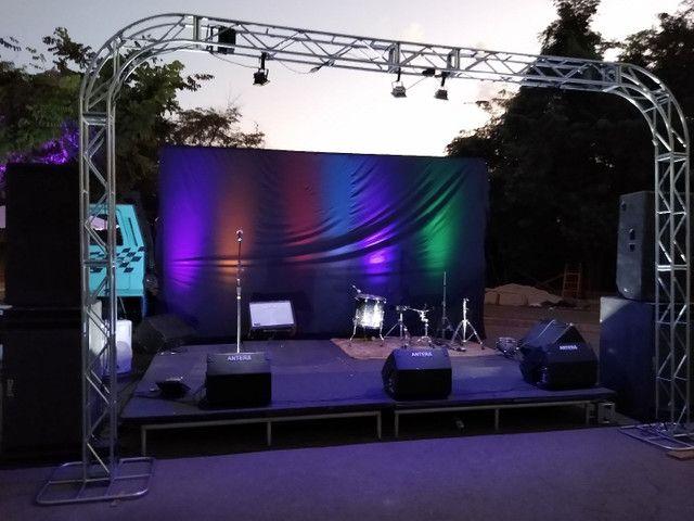 Som palco e iluminação. - Foto 4