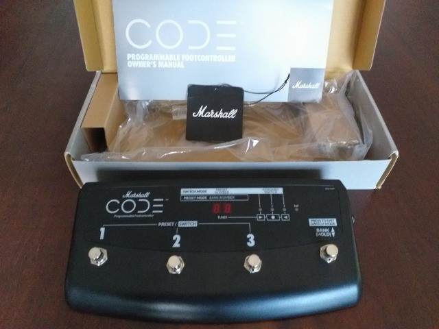 Footswitch PEDL-91009 Marshall CODE