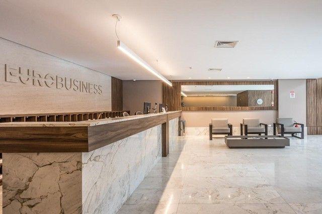 Sala comercial no Eurobusiness, 123 m² - venda por R$ 1.200.000 ou aluguel por R$ 5.500/mê - Foto 6