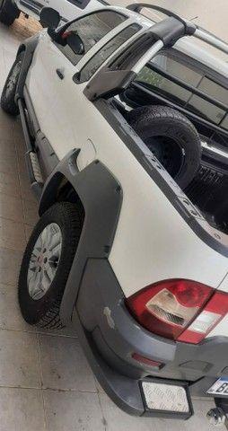 Fiat Strada Adventure CE 1.8 flex RS 2013 completa excelente estado - Foto 4