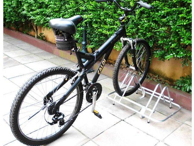 Bicicletário em Alumínio para 2 Bikes