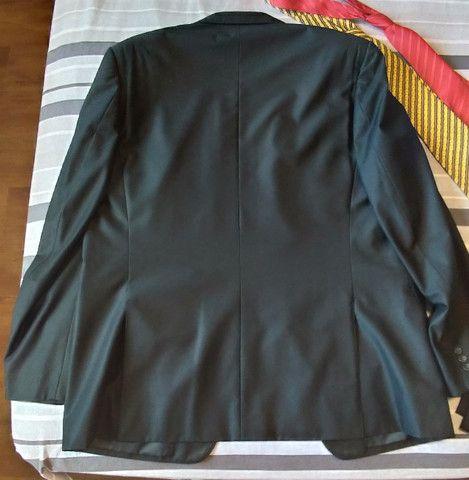 Terno com Calça Preto Navaratti Modelo Super 120s - Foto 3