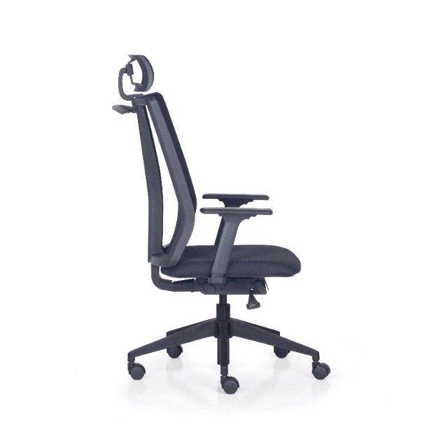 Cadeira Presidente - Nova Com Garantia - Foto 4